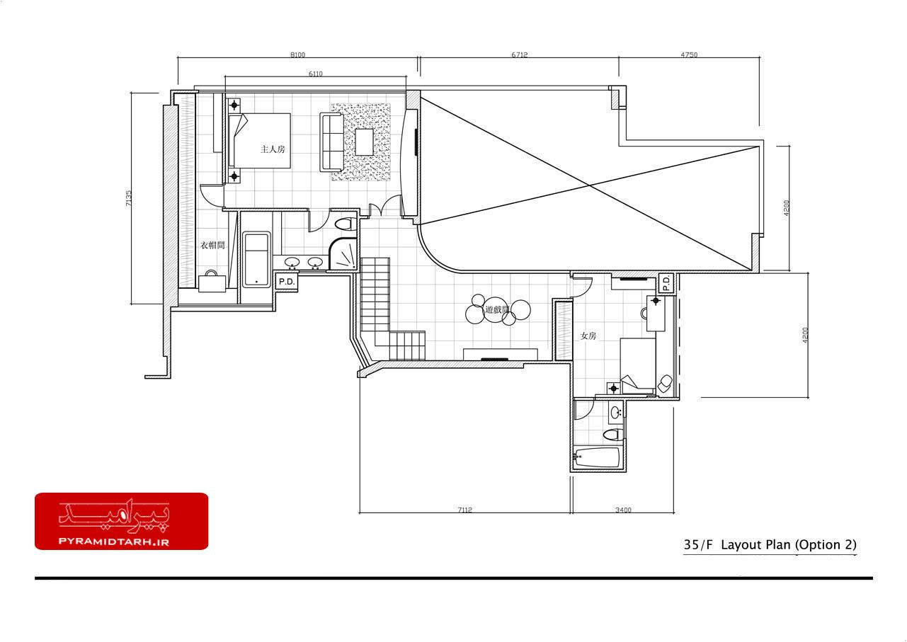 P:�612181 33F, Block 5, Parc PalaisDrawings2D101 - Floor Pla