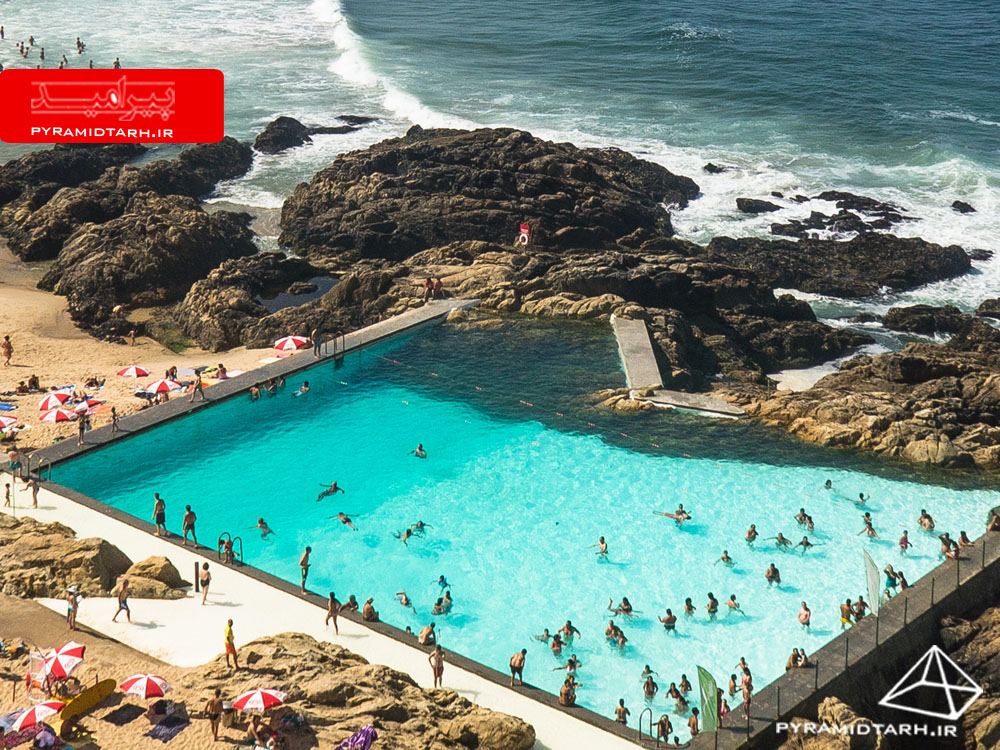 Project name: Swimming Pool in Leça da Palmeira Building type: Swimming Pool Architect: Alvaro Siza Vieira Location: Leça da Palmeira Country: Portugal Date Shoot: 11.08.2013 Paypal Transaction ID: 2D723553VT893004G