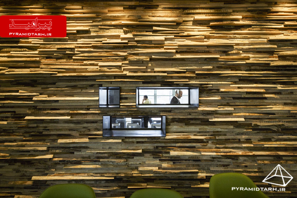 New York offices of Havas Worldwide. designed by TPG Architecture
