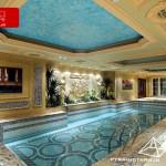 طراحی داخلی کلاسیک استخر