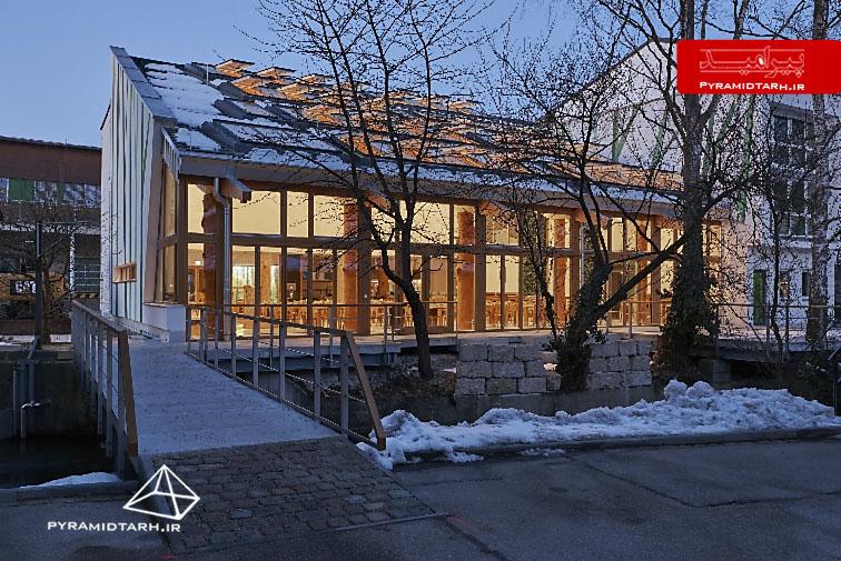 سازه فضایی | ساخت سقف شیشه ای - سازه فضایی... دکوراسیون رستوران با سقف شیشه ای - پیرامید طرحاین رستوران اخیراً با  تفکرات بسیار جالب در ...