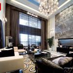 طراحی داخلی خانه های ویلایی