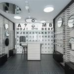 طراحی معماری داخلی فروشگاه عینک