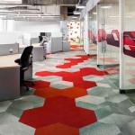 طراحی داخلی اداری با بهره گیری از موکت