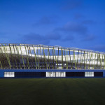 طراحی معماری استادیوم بائون(bao'an)چین