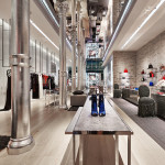 دکوراسیون فروشگاه Dior در نیویورک آمریکا
