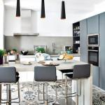 دیزاین کف آشپزخانه خانه های ایرانی