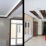 طراحی داخلی منزل با چوب