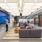 دکوراسیون ساختمان اداری شرکت اوبر(Uber)