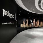 دکوراسیون تجاری کتاب فروشی  Prologue