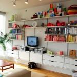 طراحی داخلی خانه با استفاده از رنگهای شاد