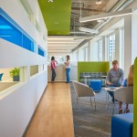 طرح معماری داخلی مرکز درمانی San Mateo
