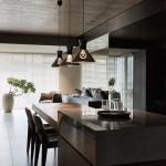 عکس نمای داخلی خانه مدرن