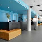 طراحی داخلی اداری مدرن شرکت emetriq