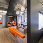 دکوراسیون داخلی دفتر معماری M Moser