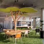 طراحی داخلی بی نظیر و باشکوه دفاتر کار Microsoft