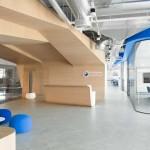 معماري داخلي زیبا و مدرن شرکت Edelman