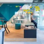 طراحی دکوراسیون داخلی دفتر کار  LINKIT