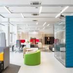 نمونه کار اداری از شرکت معماری داخلی Petr Sergeev
