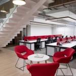 طراحی مدرنیسم دکوراسیون دفتر کار Tropigas