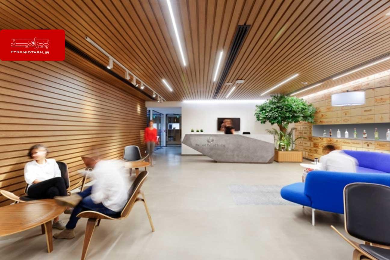 معماری اداری فوق العاده شرکت نوشیدنی Pernod Ricard