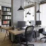 سبک صنعتی دفتر طراحی داخلی Tremend