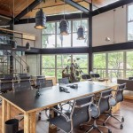 دکوراسیون دفتر کار کوچک شرکت فیلم سازیCorazon