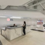 معماری داخلی زیبا و بی نظیر دفتر املاک JLL