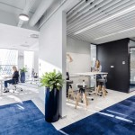 دکوراسیون داخلی شیک شرکت فناوری اطلاعات Nordea