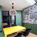 معماری خاص نمای داخلی ساختمان املاک BOUYGUES IMMOBILIER
