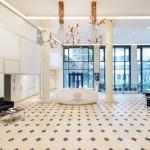 دیزاین داخلی لوکس ساختمان اداری Sisley