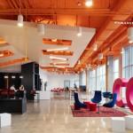 دکوراسیون جذاب و رنگارنگ شرکت OCAD U CO