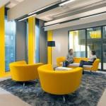 معماری داخلی مدرن دانشکده علوم اجتماعی آمستردام