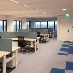 طراحی داخلی با پارتیشن شیشه ای شرکت Litebit