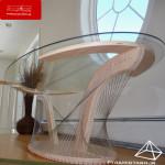نقش سازه های کابلی در طراحی مبلمان