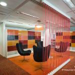 اجرای دکوراسیون متفاوت فضاهای اداری