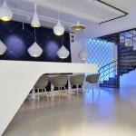 نمونه طراحی داخلی دفتر اداری