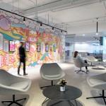 طراحی داخلی باز فضای اداری شرکت بازاریابی Quantcast