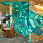 عکس معماری داخلی باشکوه شرکت مایکروسافت
