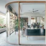 تصاویر معماری داخلی مدرن با چوب بامبو