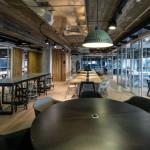 دکور پارتیشن شیشه در مرکز نوآوری RISE