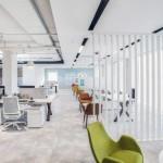بکارگیری رنگ غالب خنثی در دکوراسیون دفاتر Unilever