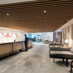 طراحی داخلی شرکت فناوری Fujitsu