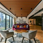 معماری داخلی زیبای گروه مشاوره Boston