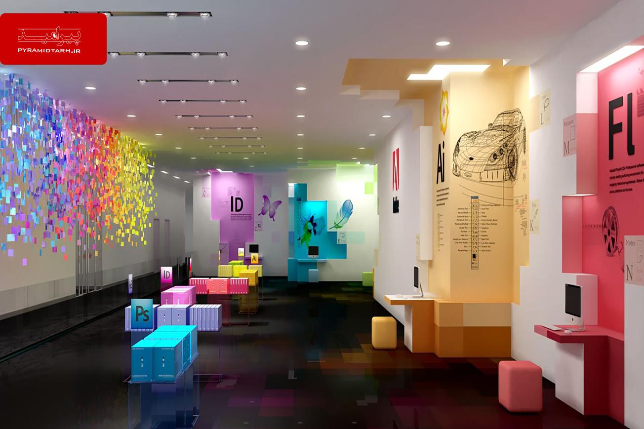 انتخاب بهترین رنگ ها برای دکوراسیون اداری دفاتر شرکت