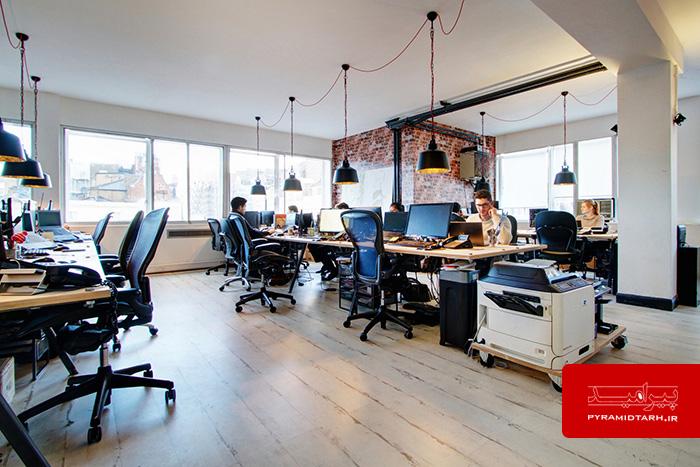 طراحی دکوراسیون اداری دفتر کار